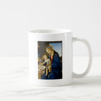 Sandro Botticelli - Virgin en het Kind Koffiemok