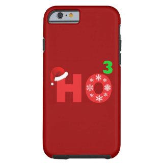 santa lach bij Kerstmis Tough iPhone 6 Hoesje