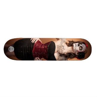 Santa Muerte 18,4 Cm Mini Skateboard Deck