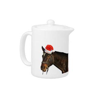 Santa van het paard - Kerstmispaard - vrolijke