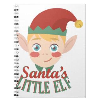 Santas Weinig Elf Ringband Notitieboeken