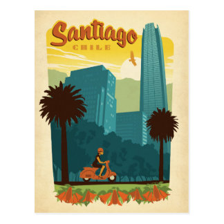 Santiago, Chili Briefkaart