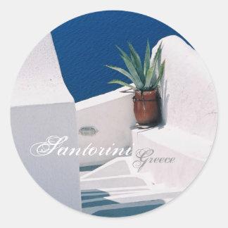 Santorini, de Sticker van Griekenland