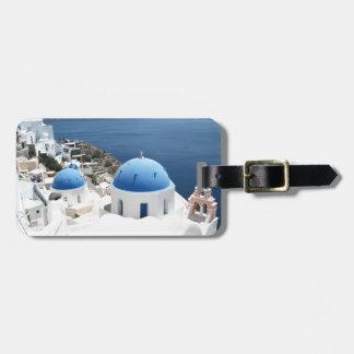 Santorini Griekenland Bagagelabel