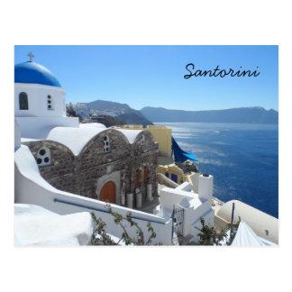 Santorini, Griekenland Briefkaart