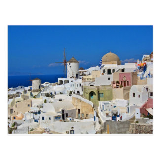 Santorini Oia Briefkaart