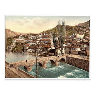 Sarajcvo (d.w.z., Sarajevo die), naar Alifakov Briefkaart