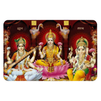 Saraswati, Lakshmi, & de Magneet van Ganesha Flexi