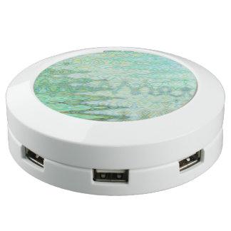 Sardinige ChargeHub™ door Bruine Kunstenaar C.L. USB Oplaadstation