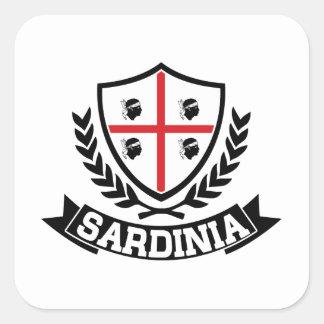 Sardinige Italië Vierkante Sticker