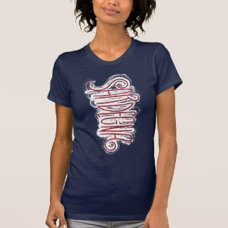 Sardinige, Wilde typografie T Shirt