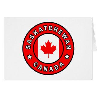 Saskatchewan Canada Kaart