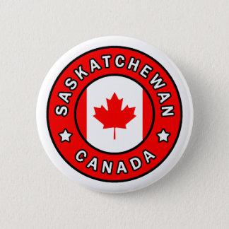 Saskatchewan Canada Ronde Button 5,7 Cm