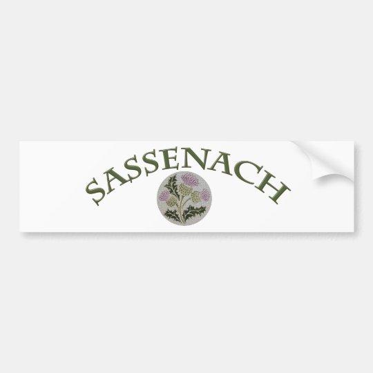 Sassenach Bumpersticker