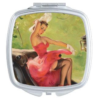 Sassy Compacte Spiegel Pinup Reisspiegeltjes