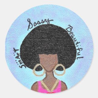 Sassy Ronde Sticker