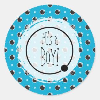Sassy Sticker van de Jongen van het Baby van Stipp