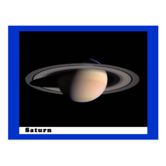 Saturn met Ringen Briefkaart
