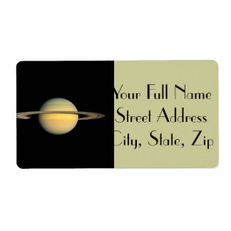 Saturn tijdens Equinox Etiket