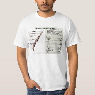 Saturn V diagram T Shirt