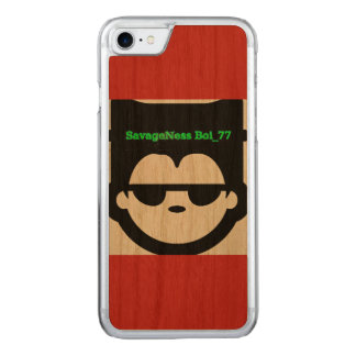SavagePhone Carved iPhone 8/7 Hoesje