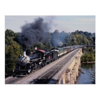 Savanne en de Spoorweg van Atlanta, Nr 750, het Briefkaart