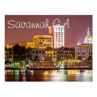 Savanne GA Briefkaart