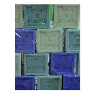 Savon DE Marseille Briefkaart