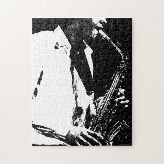 Saxofoon door Alan Harman Puzzle Puzzel