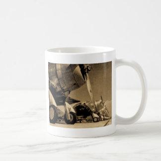 SBD van Douglas van de Wereldoorlog II de Koffiemok