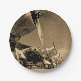 SBD van Douglas van de Wereldoorlog II de Papieren Bordje