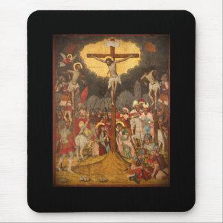 Scène 1711 van de kruisiging muismat