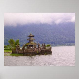 Scène van Bali Poster