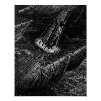 Scène van de 'Rijp van Oude Mariner Poster