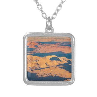 Scène van het Landschap van de Bergen van de Andes Zilver Vergulden Ketting