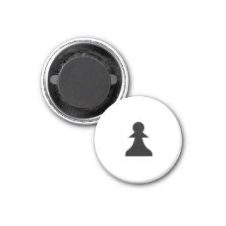 """Schaak 11/4"""" (het Zwarte) Pand van de Magneet ~"""