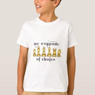 schaak, mijn wapen van keus t shirt