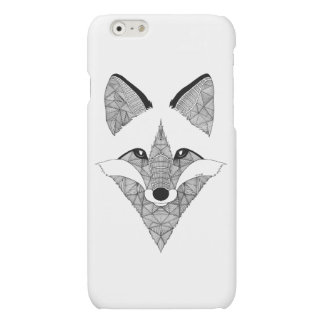 Schaal vos Hokje fox-terrier Matte iPhone 6 Hoesje