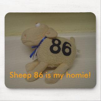 Schaap 86 is mijn homie! muismat
