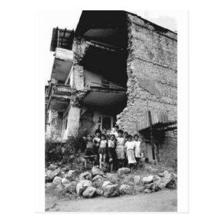 Schade aan Stepanakert Briefkaart
