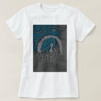 Schaduw Turkije Noir door de Maan T Shirt