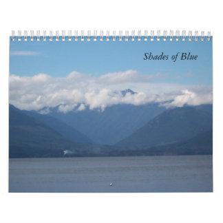 Schaduwen van Blauwe Kalender