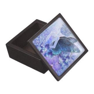 Schaduwen van de Blauwe Doos van de Gift van de Pr Premium Decoratiedoosjes
