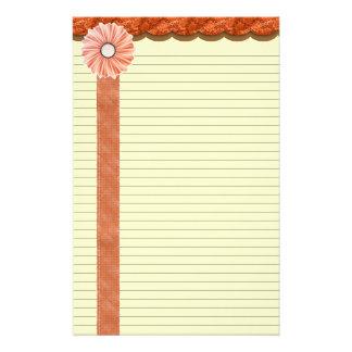 Schaduwen van de lijnen van de Kantoorbehoeften Briefpapier