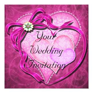 Schaduwen van de Roze Uitnodiging van het Huwelijk