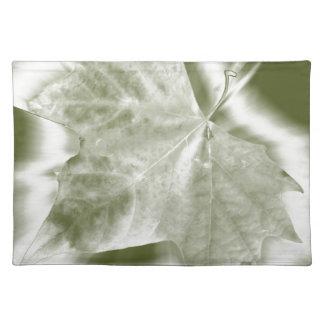 schaduwen van groen placemat