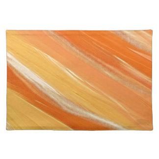 Schaduwen van Sinaasappel Placemat