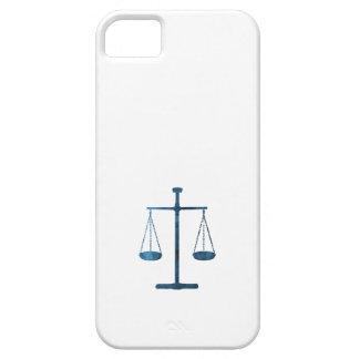 Schalen van rechtvaardigheid barely there iPhone 5 hoesje