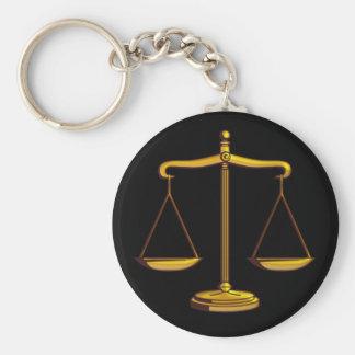Schalen van Rechtvaardigheid | Wet Sleutelhanger