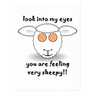 schapen briefkaart